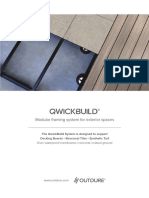 Outdure QwickBuild Brochure