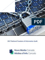2017 National Freedom of Information Audit
