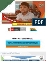 NUEVA-SOCIALIZACION  RM N°627-2016-minedu