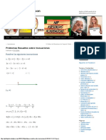 Problemas Resueltos Sobre Inecuaciones _ El Blog Del Profe Nelson