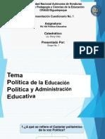 Presentacion Powerpoint Sabado Politica Educativa