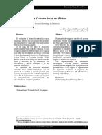 Sostenibilidad y La Vivienda Social en Mexico