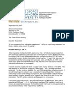 Prof. Schanfield's Supplemental Report Dated September 14, 2017
