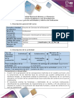 Guía de Actividades y Rúbrica de Evaluación - Fase 2 - Exploración Del Contexto Socio-educativo