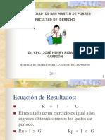 4.1 Estado de Distribucion de Resultados Usmp 2012