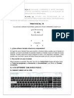 Practica No. 10 Teclado Virtual