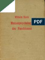 Reich 1933 Massenpsychologie k