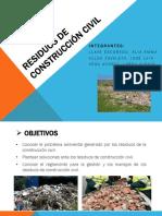 residuos de construcción civil