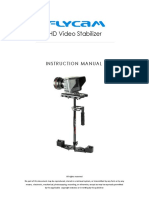 FLYCAM HD 3000 Handheld Video Stabilizer FREE Table Clamp and Quick Release Plate FLCM HD 3 QT