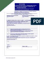 + Solicitud de Notificación o traslado en el extranjero de documentos judiciales extra judiciales (doc)