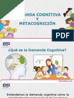 28. Demanda Cognitiva y Metacognicion