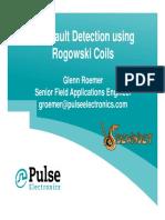 Arc Fault Detection Using Rogowski Coils