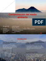 CONTAMINACION ATM 1ª Expo. Paper Contaminacion en Santiago