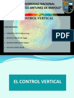Control Vertical