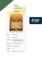Concilio de Nicea I