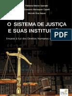 O SISTEMA de JUSTIÇA E SUAS INSTITUIÇÕES Ensaios à Luz Dos Direitos Humanos e Democracia