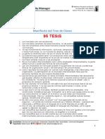 Unidad 1 - Marketing en La Web - Manifiesto Del Tren de Claves