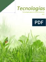tecnologías ecologicas
