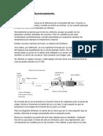 Descripción de Funcionamiento dispositivo Schlieren