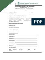 Hoja Membretada Consultorio VPO2 IMSS