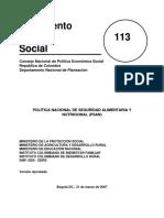 POLÍTICA NACIONAL DE SEGURIDAD ALIMENTARIA Y NUTRICIONAL.pdf