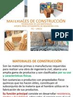 Materiales de Construcción 2016 I