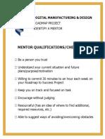 8be7a68c5a37ad36b61b6b1c7a471165 Step 7 Mentor Checklist