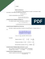 Conteúdo - Conjuntos Numéricos