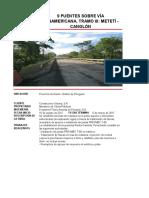Rehabilitación 9 Puentes Tramo 3meteti-Darien
