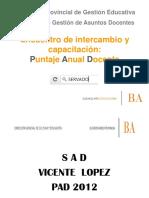 Comunicado s 2012 Pad Power