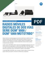 Mot Mototrbo Dgm8000 Dgm5000 Series Specsheet Es 012115