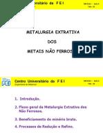 6321 -  AULA  04 -  EXTRATIVA Não ferrosos