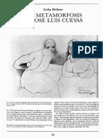 Las metamorfosis de José Luis Cuevas