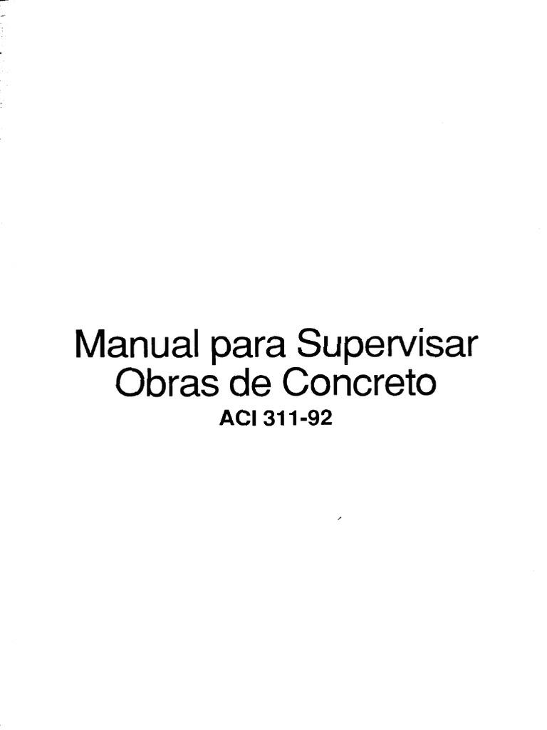 4 Manual para supervisar obras de concreto ACI 311-92.pdf