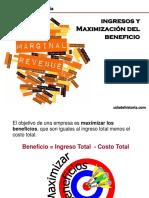 0113 ECO Ingresos y Maximizacion Del Beneficio (1)