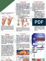 Artritis y Artrosis (Triptico)