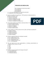 Preguntas Ginecologia