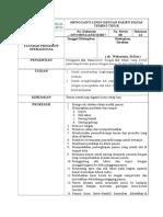 MENGGANTI LINEN DENGAN PASIEN DIATAS TEMPAT TIDUR.doc