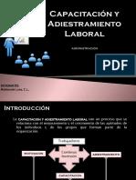 Capacitación y Adiestramiento Laboral