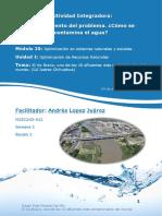 Actividad Integradora 2 Como se contamina el agua