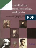 Estudios Filosóficos -Argumentación, Epistemología, Ontología, Ética