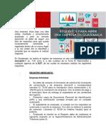 Requisitos Para Abrir Una Empresa en Guatemala