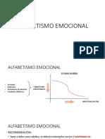 ALFABETISMO EMOCIONAL