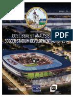 DC United Stadium-Cost Benefit Analysis