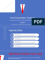 Businessman Tie Concept Google Slides Presentation