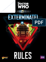 DW Exterminate Rules Booklet