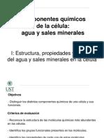 06_ Componentes Quimicos de La Celula I_Agua y Sales Minerales
