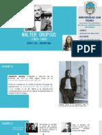Urbanista Walter Gropius