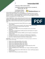 Windows Server y Ediciones Del Windows 2008 - 2012 -2016