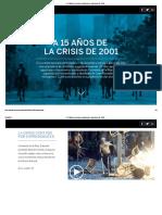 A 15 Años de La Crisis Económica en Argentina - EL PAÍS